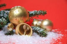 Free Christmas Background Stock Images - 27678744