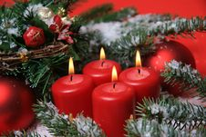 Free Christmas Background Royalty Free Stock Photo - 27678745