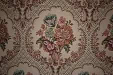 Free Old Fabric Floral Stock Images - 27679544