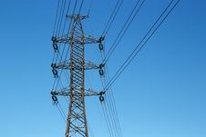 Free Power Lines Stock Photography - 27679852