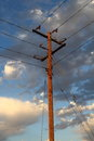 Free Utility Power Line Pole Royalty Free Stock Images - 27688389