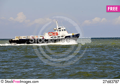 Free Supply Boat Royalty Free Stock Photography - 27683787