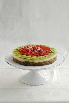 Free Fruit Cheesecake Royalty Free Stock Photos - 27680678