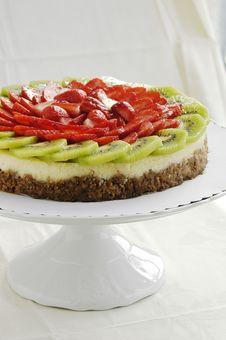 Free Fruit Cheesecake Royalty Free Stock Photo - 27680785