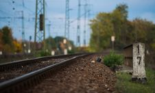 Free Railway Track Stock Photography - 27683332