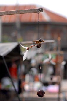 Free Bird Vane Mobile. Stock Photo - 27684770