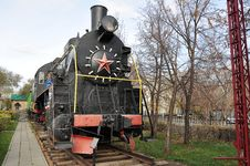 Free Elements Of The Steam Locomotive Stock Image - 27685761