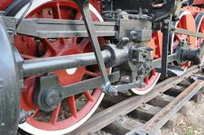 Free Elements Of The Steam Locomotive Royalty Free Stock Photo - 27685765