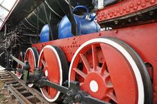 Free Elements Of The Steam Locomotive Royalty Free Stock Photos - 27685778