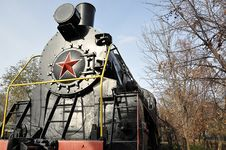 Free Elements Of The Steam Locomotive Stock Image - 27685781