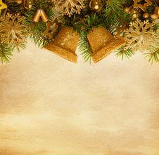 Free Christmas Border. Royalty Free Stock Image - 27686476