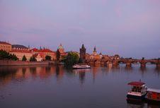 Free Prag At Dusk, Charles Bridge Stock Photo - 27689760