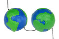 Free Hemisphere With Wires Royalty Free Stock Photo - 27691755