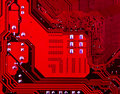 Free Red Motherboard Royalty Free Stock Photography - 27692447