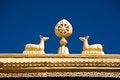 Free Tibetan Monastery Gates Stock Photography - 27695882