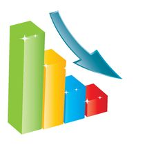 Free Business Growth Chart. Royalty Free Stock Images - 27695489