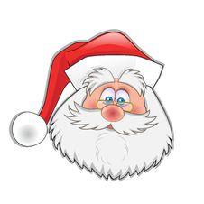 Free Santas Head Stock Photo - 27695800