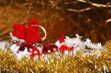 Free Christmas Gnome Toys Royalty Free Stock Photo - 27698135