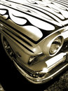 Free American Hotrod Car In Sepia Royalty Free Stock Photography - 2772057