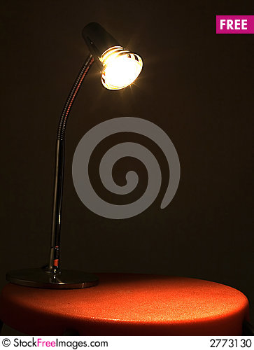 Free Light In The Red Dark Stock Photo - 2773130
