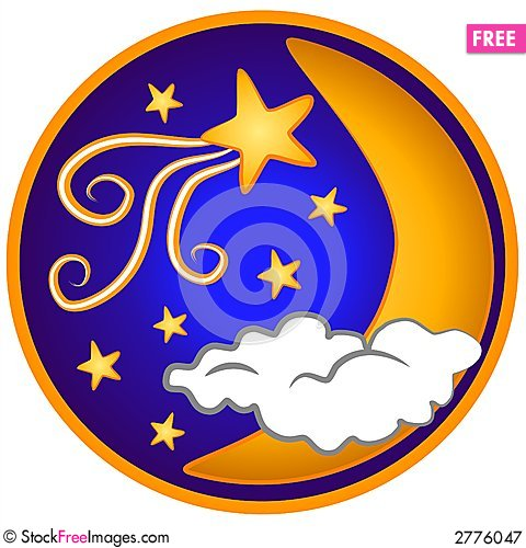 Free Moon Shooting Stars Clip Art Royalty Free Stock Photography - 2776047