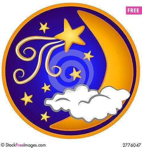 Free Moon Shooting Stars Clip Art Royalty Free Stock Photography - 2776047