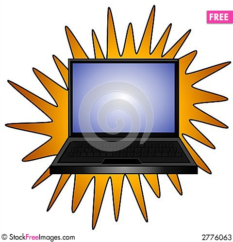 New Laptop Computer Clip Art - Free Stock Photos & Images ...