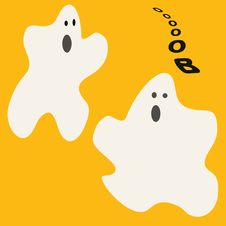 Free Halloween Ghost Royalty Free Stock Images - 2770319