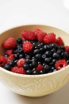Free Raspberry And Blueberry Stock Images - 2770454