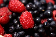 Free Raspberry And Blueberry Stock Photo - 2770550