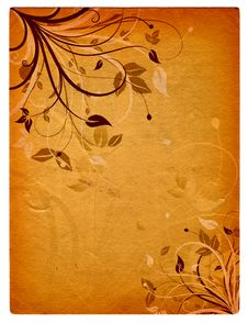 Free Floral Grunge Stock Image - 2770781
