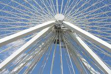 Free Ferris Wheel Center Royalty Free Stock Photo - 2772395