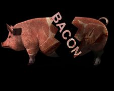 Free Pig And Bacon 9 Royalty Free Stock Photo - 2773795
