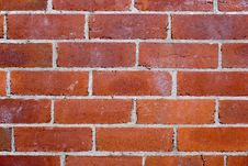 Free Old Red Brick Wall Royalty Free Stock Image - 2774126