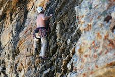 Free Rock Climber / Climbing Stock Photos - 2774763