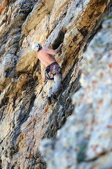 Free Rock Climber / Where Stock Photos - 2774783