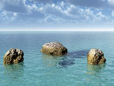 Free Rock Coast Royalty Free Stock Photo - 2775405