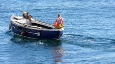 Free Fisherman On A Boat Stock Photos - 2776113