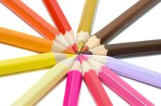 Free Colour Pencils Stock Photo - 2776170