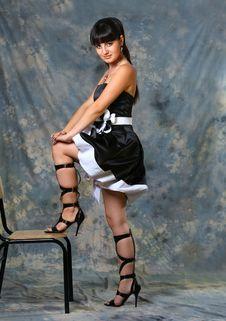 Free Beauty Girl In Studio Stock Photos - 2776853