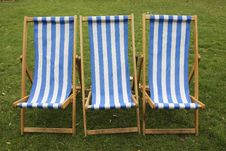 Free Deck Chairs Stock Image - 2777291