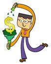 Free Test Tube Dollar Stock Images - 27702964