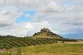 Free Almodovar Castle Over The Fertile Valley Royalty Free Stock Photos - 27704708