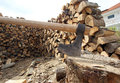 Free Fire Wood Royalty Free Stock Image - 27705356