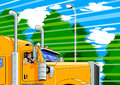 Free Truck Driver Stock Image - 27705401