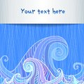 Free Blue And Violet Waves Background Royalty Free Stock Image - 27708546