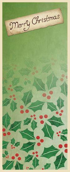 Free Christmas Greeting Card Stock Image - 27700181
