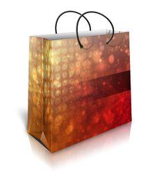Free Christmas Gift Bag Royalty Free Stock Photo - 27701775