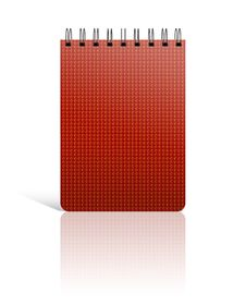Free The Red Cover Of Note Book Stock Image - 27701841