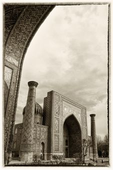 Free Registan Ensemble Stock Photos - 27706193